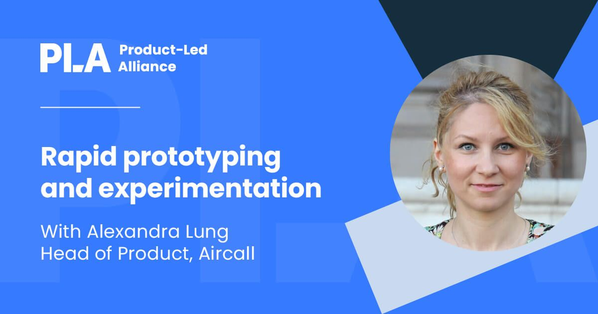Rapid prototyping and experimentation workshop - Alexandra Lung