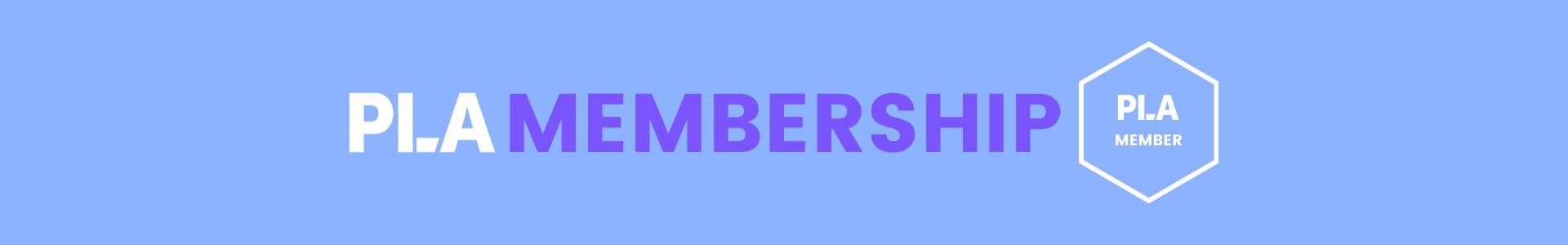 PLA Membership Plan