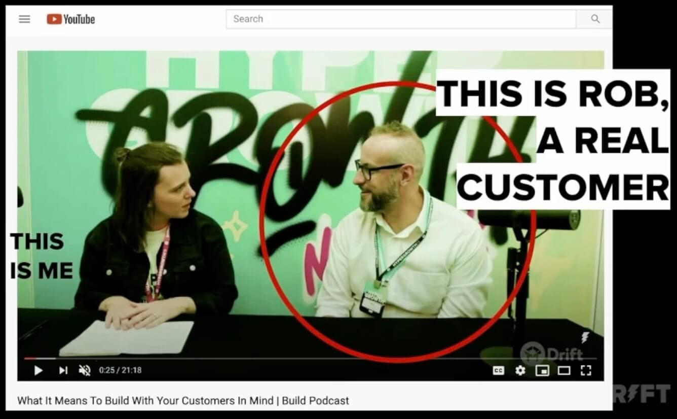 real customer