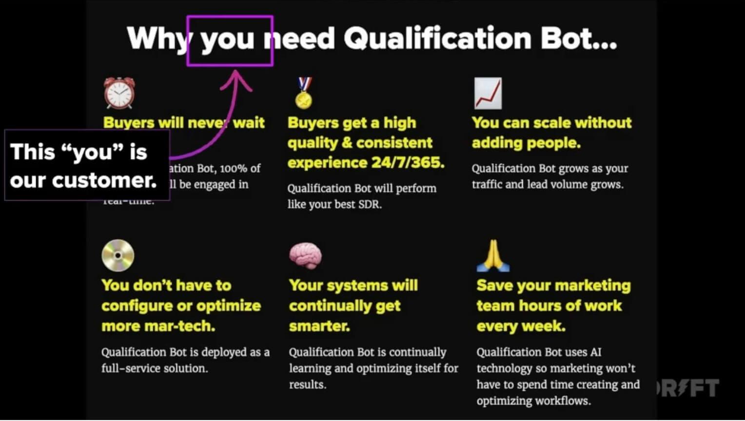 qualification bot