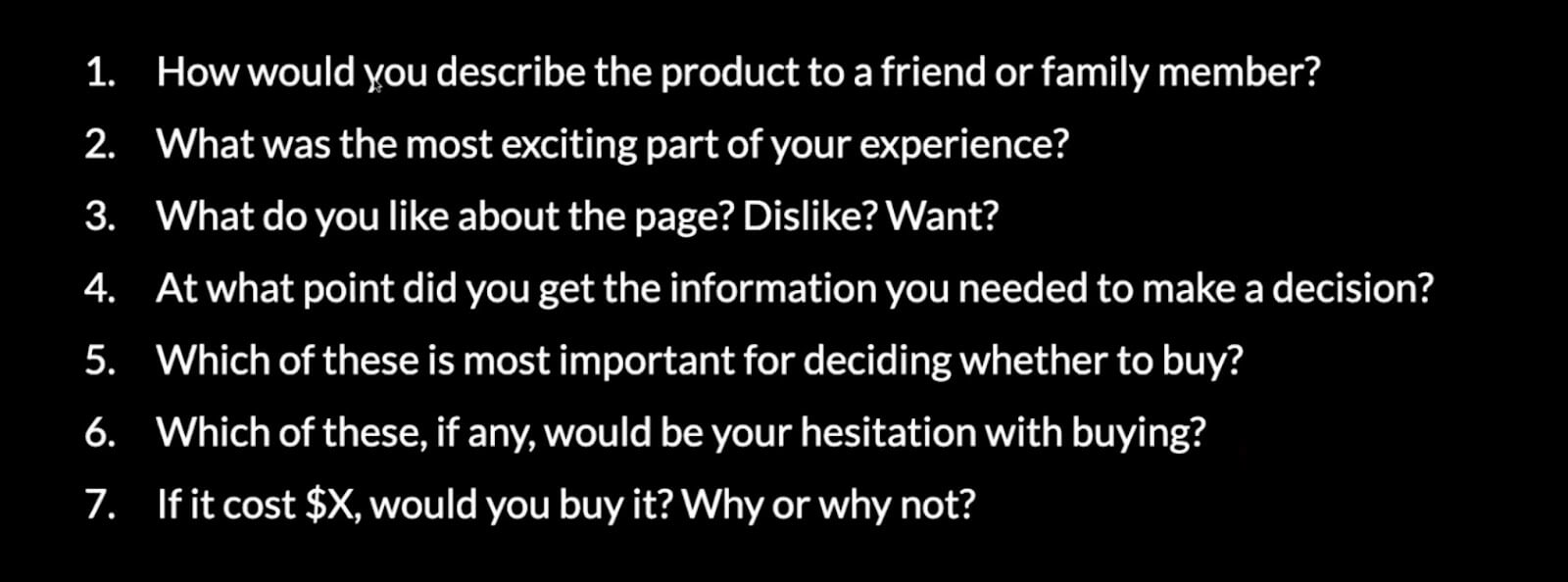 user research questions