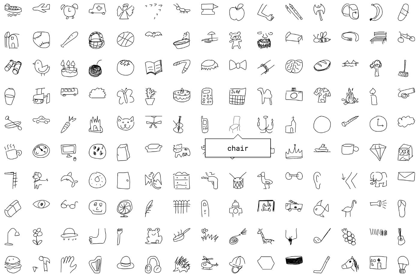Google Draw open dataset